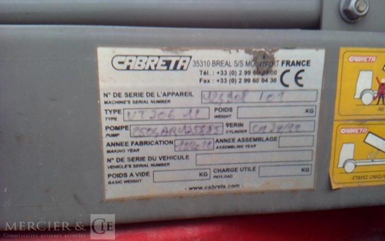 MERCEDES SPRINTER 513CDI BENNE ROUGE CV-782-YP