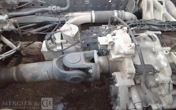 MERCEDES ACTROS II MP4 1845 BIGSPACE EURO5 19T GRIS BA6024